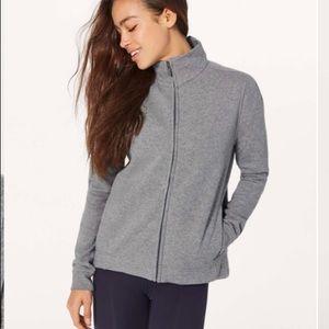 Lululemon wind down jacket sz 8 & 10 NEW Grey